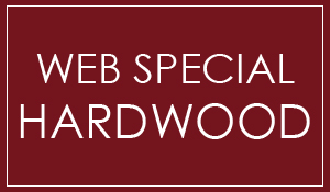 Web special on hardwood. $2.98 Square foot. Cash and carry. 12 months interest free financing!